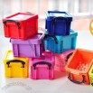Colourful Mini Storage Boxes