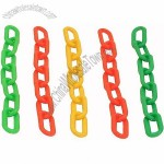 Colourful Plastic Chain Links - Large - Parrot Toy Parts