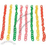 Colourful Plastic Chain Links - Small - Parrot Toy Parts