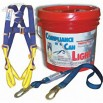 Combo Full Body Harness And Shock Absorbing Lanyard