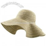 Combo Weave Large Sun Hat-Natural