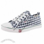Comfortable Canvas Shoe with Rubber Outsole