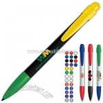 Comfortable bullet pusher retractable style pen