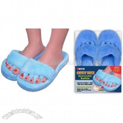 Comfy Toes Comfy Feet Slippers - Rejuvenating House Slippers