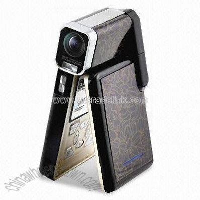 Compact High Difinition 1280 x 720 HD Camcorder with 3X Optical Zoom