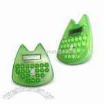 Compact and Lovely Mini Calculator with Durable Rubber Keys