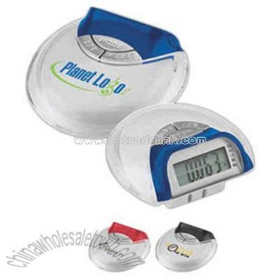 Compact mini mode pedometer