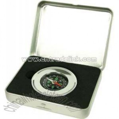 Compass In Gift Tin