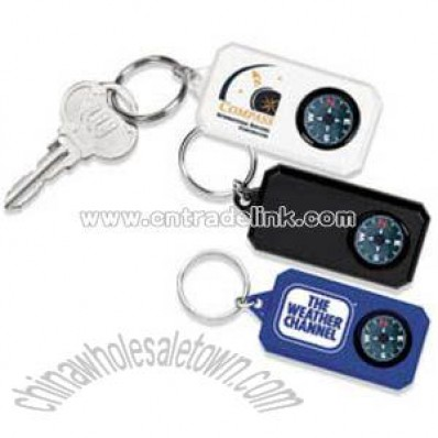 Compass Key Tag