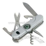 Compass Pocket Knife