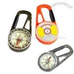 Compass With Carabiner