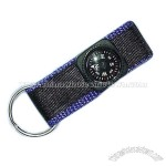 Compass with Webbing Strap and Key Ring