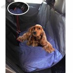 Complete Protective Rear Car Seat Pet Waterproof Cover for All Cars