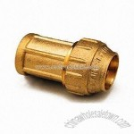 Compression Fitting with Forging Brass Body
