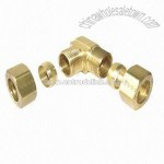Compression Fittings with Brass Sleeve