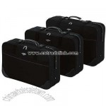 Constellation 3 Piece Suitcase Set - Black