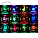 Constellation Music Box Crystal Ball