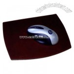 Contemporary leather mouse pad