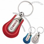 Contoured Full Color Key Chain