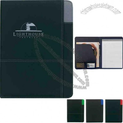 Contrast - Pvc Padfolio Made Of 210 And 600 Denier Polyester