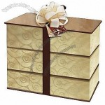 Cookie Boxes with Ribbon, Made of Fancy Paper