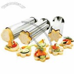 Cookie Cutters/Kitchen Tool Set, 3-piece Canape Bread Mold Set