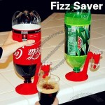 Cool Fizz Saver Dispenser for Drinking Dispensing Gadget