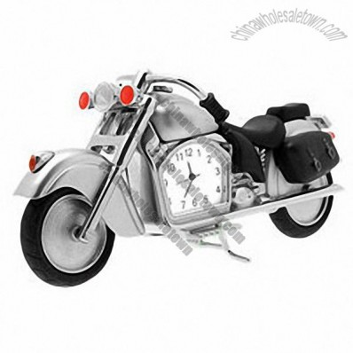 Cool Motorcycle Motor Bike Chopper Desk Clock