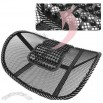 Cool car massage lumbar mat, lumbar cushion, massage pad