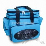 Cooler Bag with Built-in Stereo AM/FM Radio