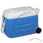 Cooler box with wheels 53L