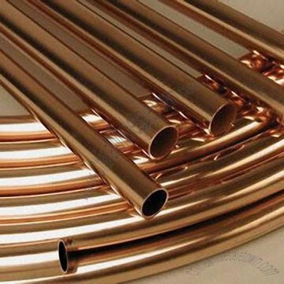 Copper Tubes with C12200 Grade, Made of Stainless Steel, Aluminum and Brass