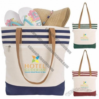Cora Lane Cotton Tote Bag