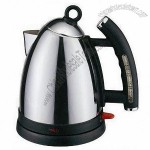 Cordless Stainless Steel Electric Kettle With Level Mark