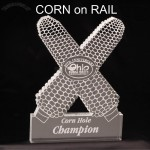 Corn Shaped Acrylic Award