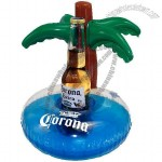 Corona Extra Floating Palm Tree Beer Caddy Pool Toy