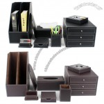 Corporate Gift Office Desktop Leather Gift Sets