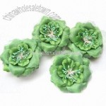 Costume Flower Brooches with Pin and Hair Band