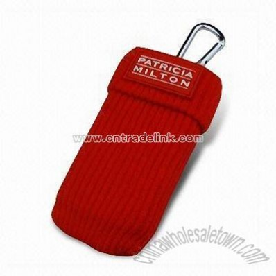 Cotton Mobile Phone Pouch