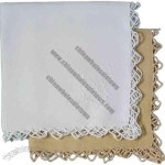 Cotton Reticella Dinner Napkin