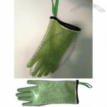 Cotton Silicone Oven Mitt Glove