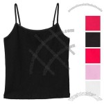 Cotton/Spandex Camisole Logo Tank Top - Women's - Colors