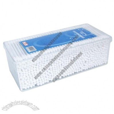Cotton swab in PP box