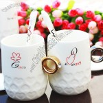 Couples Rings Mug