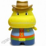 Cowboy Version Hess Hippo Piggy Bank