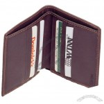 Cowhide Napa Leather Bi-fold Wallet