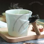 Cracked Up Mug Cup With Hammer Handle