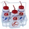Cramer Wire Bottle Carrier - Holds 6 Quart Size Squeeze Bottles