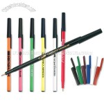 Crazy Stick Pen - Neon or Black Barrel