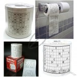 Create Sudoku Game Toilet Paper - Bathoom Tissue